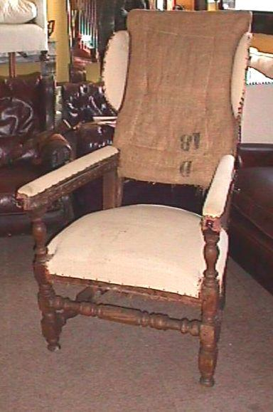 Rare large reclining chair